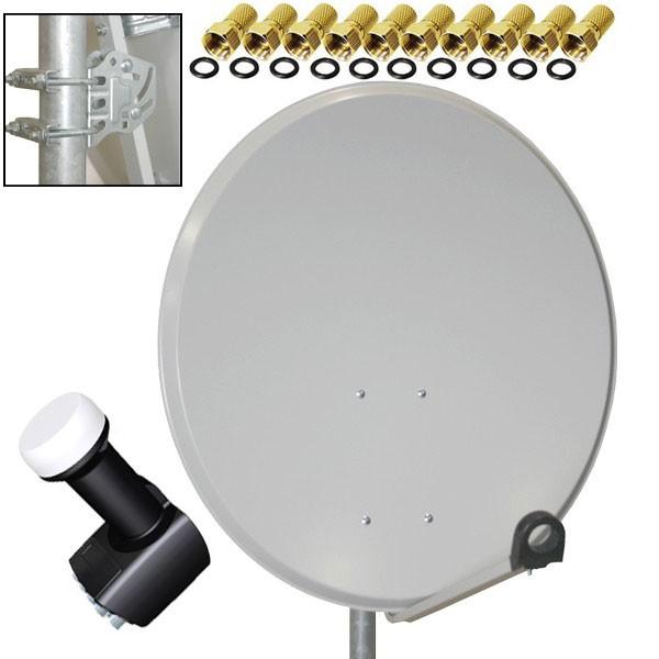antenne premiumx sat sch ssel 80 cm alu lnb octo 0 2 db. Black Bedroom Furniture Sets. Home Design Ideas