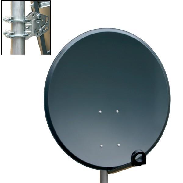 antenne premiumx sat sch ssel spiegel 80 cm alu pxa 80. Black Bedroom Furniture Sets. Home Design Ideas